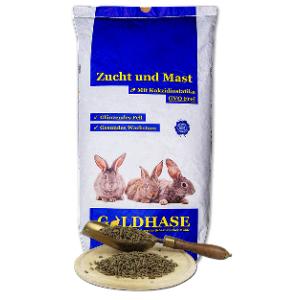 Goldhase Kanin M+Z + Coc 25kg