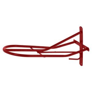Sattelhalter, rot  pulverbeschichtet