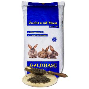 Goldhase Kanin M+Z + Kräuter 25kg (GVO frei)